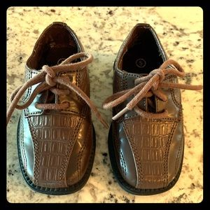 Baby boy dress up shoes